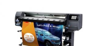 Kampagnenbild zum 3M Print and Wrap Aktion
