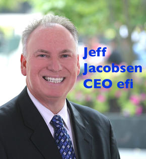 Jeff Jacobsen, CEO bei efi