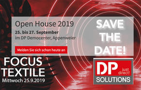 DP Solutions, Open House, Textildruck, Robotik, Mimaki, Rauch IT
