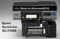 Direct to Garnment-Drucker: Surecolor SC-F3000